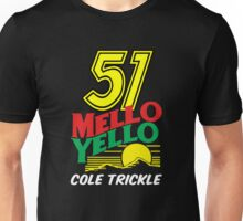 51 MELLO YELLO - DAYS OF THUNDER - TOM CRUISE Unisex T-Shirt