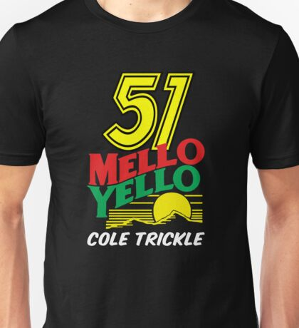 51 MELLO YELLO - DAYS OF THUNDER - TOM CRUISE Unisex T-Shirt