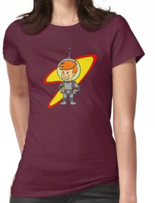 Astro Kid Womens Fitted T-Shirt