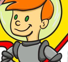 Astro Kid Sticker
