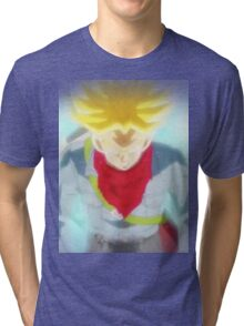 Mirai Trunks super saiyan legendary Tri-blend T-Shirt