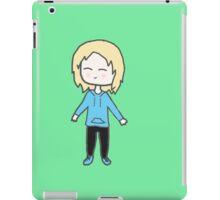 Alice Chibi with green background iPad Case/Skin