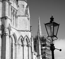 Lamp Post Outside the Minster by Tim Kelly