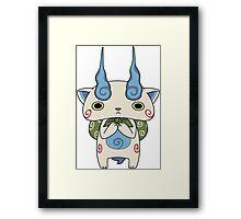 Yo - Kai Watch - Komasan #099 Framed Print