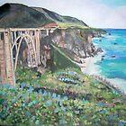 Bixby Creek Bridge, Big Sur by Teresa Dominici