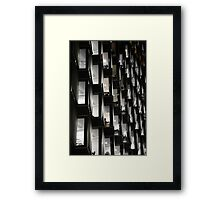 Office Comb Framed Print