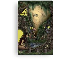 Dawn of the Dragons Canvas Print