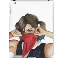 Lindsey Way with Scarf iPad Case/Skin