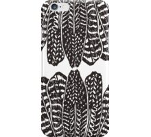 Tribal Feathers  Black iPhone Case/Skin