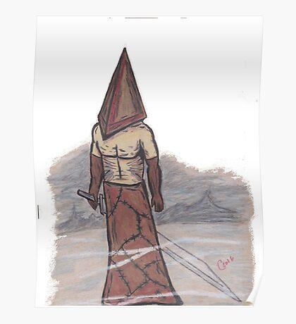 Pyramid Head Poster