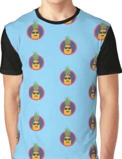 Cool pineapple with sunglasses Graphic T-Shirt
