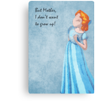 Peter Pan inspired design (Wendy) Metal Print