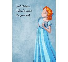 Peter Pan inspired design (Wendy) Photographic Print
