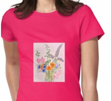 From The Garden. Womens Fitted T-Shirt