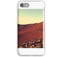 Red Planet, Home Planet iPhone Case/Skin