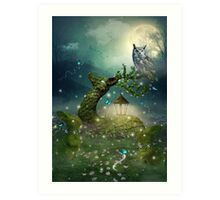 Keeper of the Enchanted - Spring Thaw Art Print