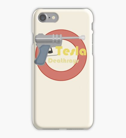 Tesla Deathrays, TDR-34 iPhone Case/Skin