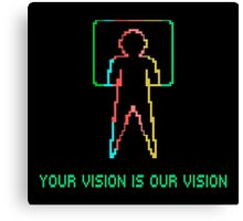 COLECO - YOUR VISION IS OUR VISION Canvas Print