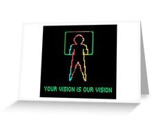 COLECO - YOUR VISION IS OUR VISION Greeting Card