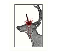 Fake unicorn. Art Print