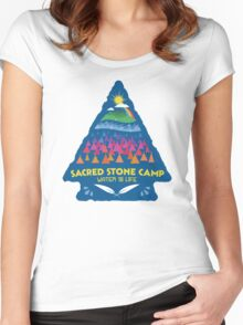 Sacred Stone Shirt Women's Fitted Scoop T-Shirt