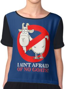 Bill Ain't Afraid of No Goats Chiffon Top