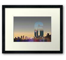Toronto Skyline – The Six Framed Print