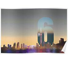 Toronto Skyline – The Six Poster