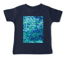 Beautiful sequins texture Baby Tee