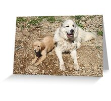 Friendship Blooming- Goliath & Jotun Greeting Card