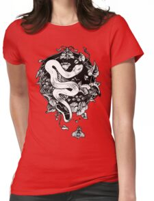 THE END OF THE SUMMER  Womens Fitted T-Shirt