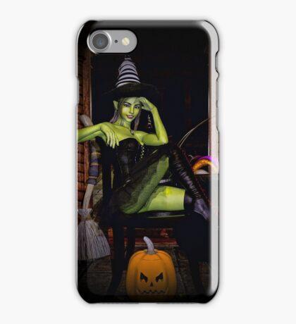 Green spells iPhone Case/Skin
