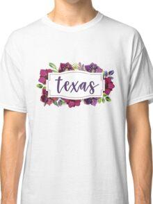 Texas Floral Classic T-Shirt