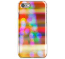 Abstract blurred background iPhone Case/Skin