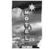 Motel Sign Poster