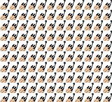 Black Nails Emoji Collage by urbanicole