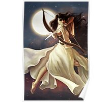 Goddess of the Moon Poster