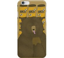 Grizzly Bear Dreams iPhone Case/Skin
