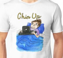 Chin Up Watercolor Shirt and Sticker Unisex T-Shirt