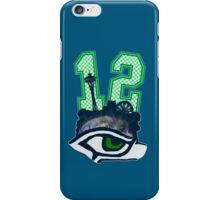 Seahawks 12th Man (SSH-000001) iPhone Case/Skin