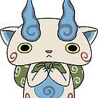 Yo - Kai Watch - Komasan #099 by PrincessCatanna