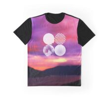 BTS - Wings sunset Graphic T-Shirt