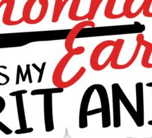 Wynonna Earp Spirit Animal Sticker
