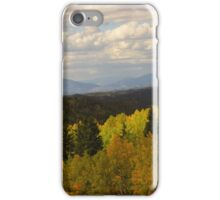 Autumn Colors On the Road to Cripple Creek iPhone Case/Skin
