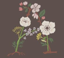 Botanical Letters A Baby Tee