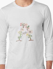 Botanical Letters A Long Sleeve T-Shirt