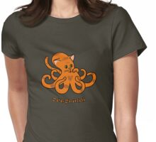 Octopuss Womens Fitted T-Shirt
