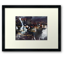 She's Your Mystery Framed Print