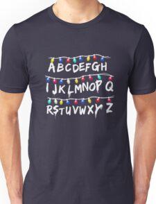 Strange Lights Shirt: Horror Christmas Things T-Shirt Unisex T-Shirt