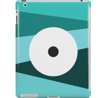 Color Eye Blues iPad Case/Skin